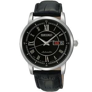 SEIKO 4R36 尊爵時尚機械腕錶-黑