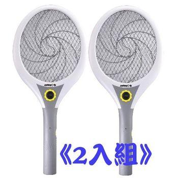 【日象】大眾大旋風電池式電蚊拍 ZOM-2400(2入組)
