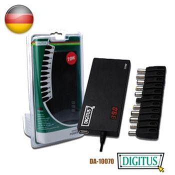 【DIGITUS曜兆】通用NB變壓器70W加USB充電孔