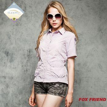 橋登FOX FRIEND 2842 女款抗UV短袖上衣_網