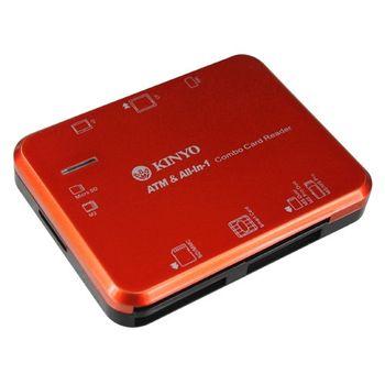 【KINYO】多合一7插槽晶片讀卡機(KCR-355)