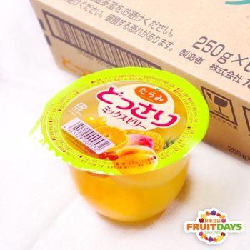 【鮮果日誌】MIX多口感-日本鮮果果凍 どっさり - 綜合水果舞凍