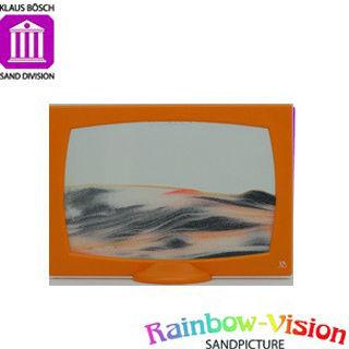 【Rainbow Vision】水砂畫-彩虹之幕(橘色)