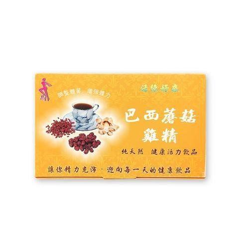 【活綠好康】巴西蘑菇雞精(30包/盒)