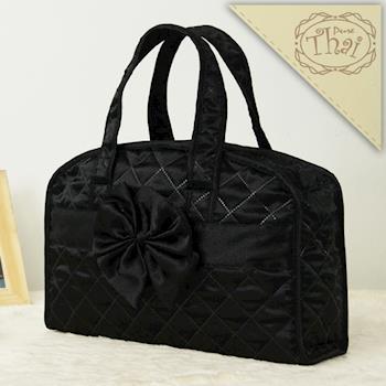 【PureThai】氣質淑女曼谷手提包/輕巧黑