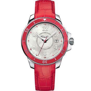 Thomas Sabo  彩漾珍珠貝腕錶(WA0122)-紅
