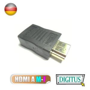 曜兆DIGITUS~AB-561~HDMI專用鍍金接頭(公對母)