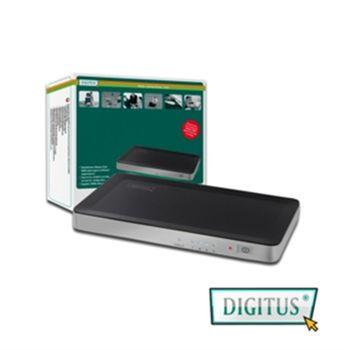 曜兆DIGITUS一進四出分配器(觸控按鈕設計)