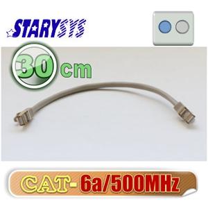 STARY高級線材 金屬防磁包覆接頭網路線30公分-灰