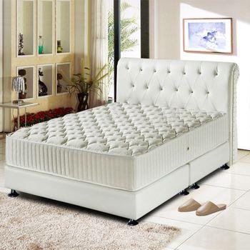 【睡尚寶】五星級飯店用雲端蜂巢獨立筒床墊-單人