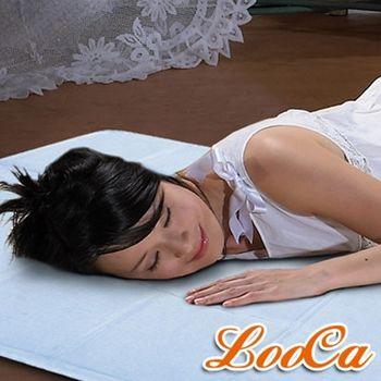 【LooCa 】超涼感凝膠床墊(清新藍)
