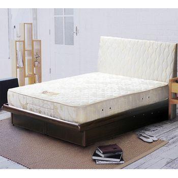 【絲麗翠】簡約生活雙人硬式彈簧床墊