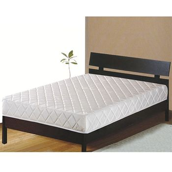 《限時下殺》【Maslow】素雅冬夏兩用雙人硬式彈簧床墊
