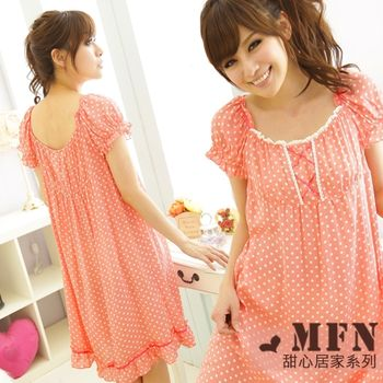 【MFN】日系點點公主純愛洋裝