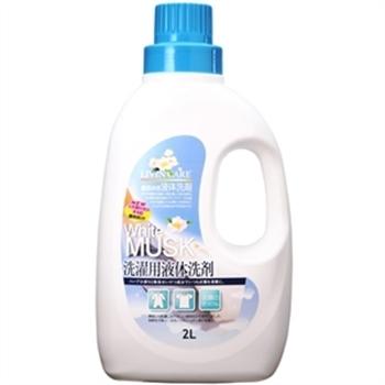 【LIVIN CARE】白麝香抗UV洗衣精2L*6入