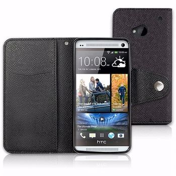 NEW HTC One (M7) 專用P01側開掀蓋式多彩保護皮套
