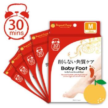 Baby Foot寶貝腳3D立體足膜30分鐘快速版(5入)