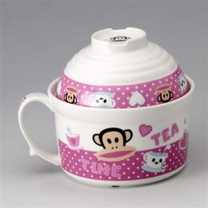 【paul frank】大嘴猴碗蓋杯-任