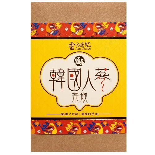 靈之世紀 韓國人蔘茶 7包x4盒體貼媽咪組