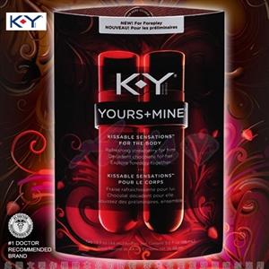 美國K-Y-Yours + Mine 潤滑液(共88ml)