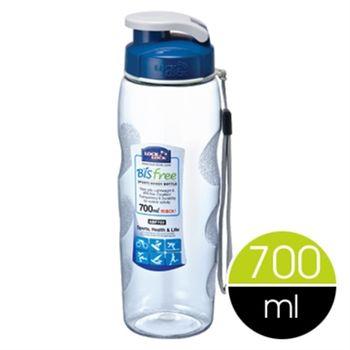 【樂扣樂扣】Bisfree優質運動水壺700ml-附掛帶-任