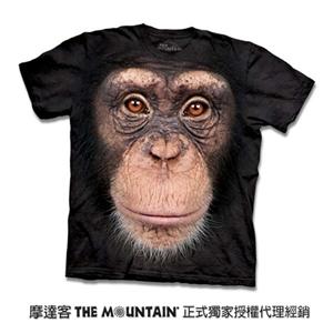 【摩達客】預購-美國進口The Mountain 黑猩猩臉T(男)
