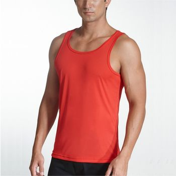 【三槍牌】時尚經典排汗速乾型男E棉彩色背心4件組HE4237B