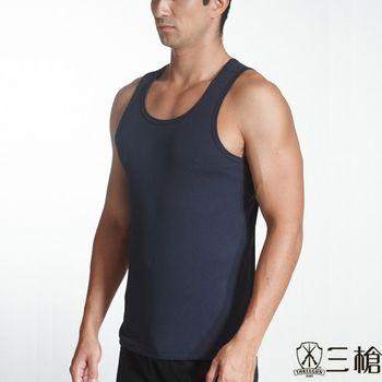 【三槍牌】時尚經典排汗速乾型男E棉羅紋背心4件組(HE4237C)