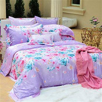 義大利La Belle《花之饗宴》雙人天絲四件式被套床包組