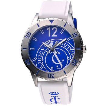 Juicy Couture派對時尚腕錶(J1900948)-藍/白