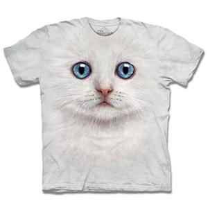 【摩達客】預購3XL-The Mountain 雪白小貓 T恤