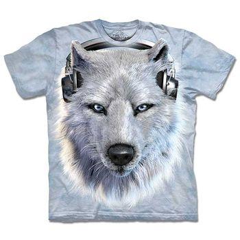 【摩達客】預購3XL-The Mountain DJ白狼 T恤