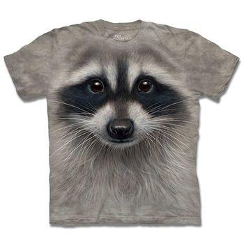 【摩達客】預購3XL-The Mountain 浣熊臉 T恤