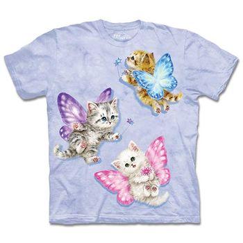 【摩達客】預購3XL-The Mountain 蝴蝶貓仙女 T恤