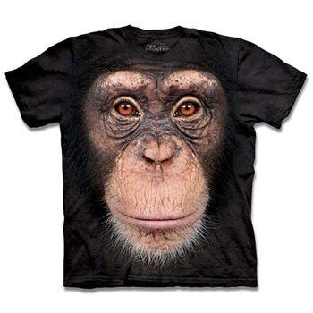 【摩達客】預購3XL-The Mountain 黑猩猩臉 T恤