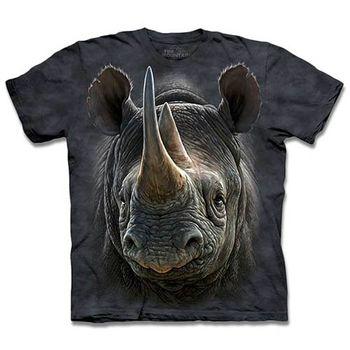 【摩達客】預購3XL-The Mountain 黑犀牛 T恤