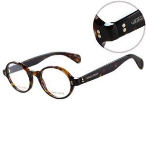 GIORGIO ARMANI-時尚光學眼鏡(琥珀/黑)