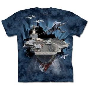 【摩達客】預購3XL-The Mountain 突破航空母艦 T恤