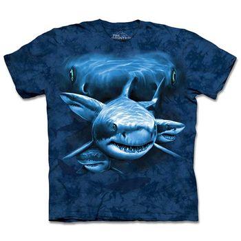 【摩達客】預購3XL-The Mountain 鯊魚瞳 T恤