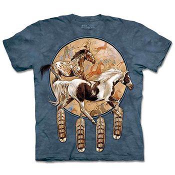 【摩達客】預購3XL-The Mountain 奔馬捕夢網 T恤