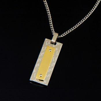 Sarlisi 簡單元素西德鋼墬飾