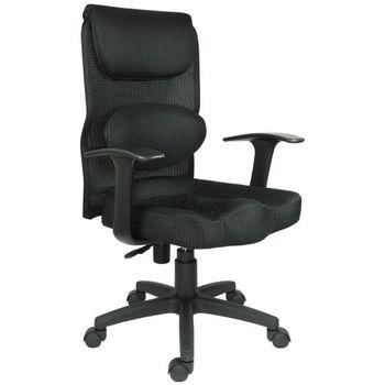 【時尚屋】菲斯護腰厚實坐墊辦公椅DY-5801