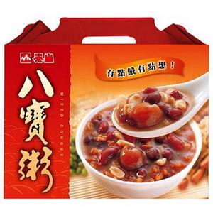 《泰山》八寶粥(375G/罐*12)雙禮盒組(共24罐)-任網