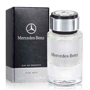 Mercedes Benz  賓士男性淡香水(7ml)