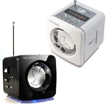 小鋼炮 908RL 插卡式MP3/FM 音響小喇叭(單機價)