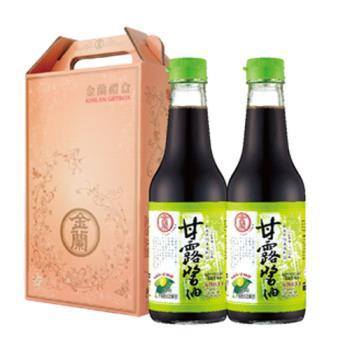 【金蘭】寶囊禮盒-甘露醬油500ml*2入