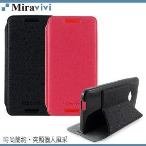 Miravivi NEW HTC ONE 簡約薄型側立式皮套