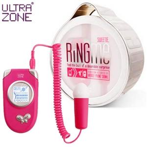 美國Ultrazone-熱線5段變頻跳蛋 桃紅