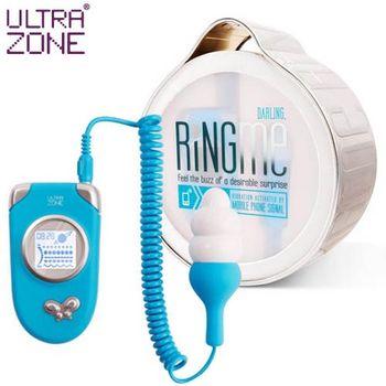 美國Ultrazone-熱線5段變頻跳蛋 藍