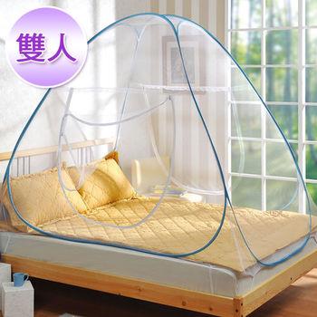 棉花田【浪漫滿屋】帳棚式蚊帳-雙人(150x200x160cm)